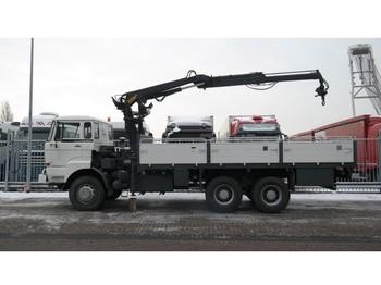 Ciężarówka DAF 2300 6x6 OPEN BOX WITH HIAB CRANE