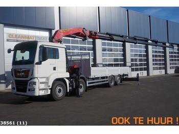 Ciężarówka MAN TGS 35.460 8x2 Fabrieksnieuw Palfinger 63 ton/meter laadkraan