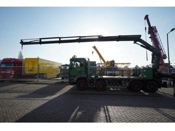 Ciężarówka MAN TGS 35.480 8X4 OPEN BOX WITH PALFINGER PK 23002 CRANE