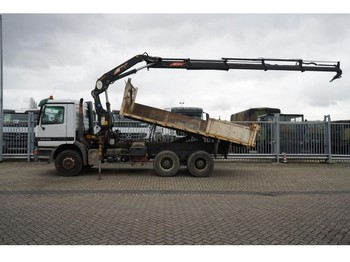 Ciężarówka Mercedes-Benz ACTROS 3335 6X4 TIPPER WITH PM 16.524 CRANE