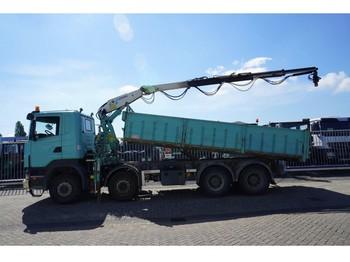 Ciężarówka Scania R 400 8X4 TIPPER WITH KENNIS 16.00 CRANE 361.000KM