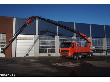 Ciężarówka Volvo FH 12.460 8x4 Palfinger 60 ton/meter laadkraan + JIB