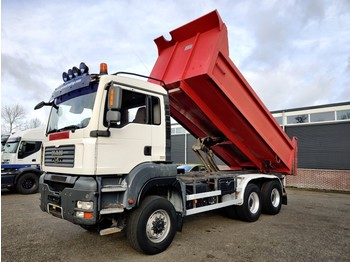 MAN TGA 33.360 6x6 Euro4 - 23m3 Tipper - Steel Suspention - 10 tires - BOX is 3 years OLD! - wywrotka