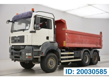 MAN TGA 33.440 - 6x6 - tractor/tipper double use - wywrotka