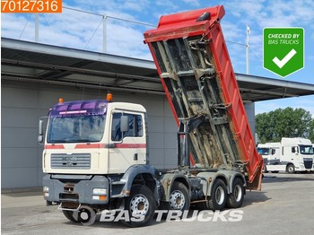 MAN TGA 35.360 8X4 Manual Big-Axle Hydrobord 2-Seiten Kipper Euro 3 - wywrotka