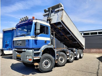 MAN TGA 49.440 10x8 Euro4 Kipper Ruizeveld 25m³ - Manual Gearbox - Full steel suspension - wywrotka