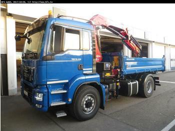 MAN TGS 18.420 4x4H BL Hydrodrive,HMF 1820 K4 RC  - wywrotka