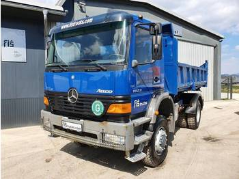 Mercedes Benz ATEGO 1823 AK 4x4 tipper + bordmatic - wywrotka