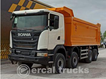 Wywrotka SCANIA 2014 G400 EURO5 8X4 AC HARDOX TIPPER