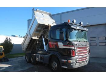 Scania R 560 6x4 tipper dump truck Mercedes-Benz Volvo  - wywrotka