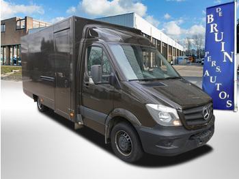 Closed box van Mercedes-Benz Sprinter 314 CDI EURO 6 Multi functioneel evt ombouw naar Paardenwagen of foodtruck voorzien van Achteruitrij Camera