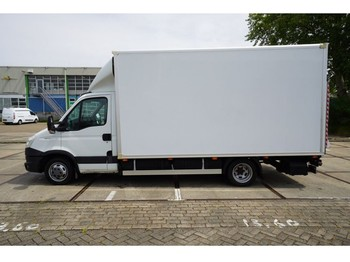 Iveco 35C 15 107KW CLOSED BOX WITH D'HOLLANDIA LIFT - commercial truck