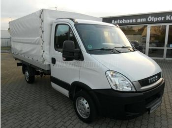 Curtain side van IVECO DAILY 35 s 10 P+P