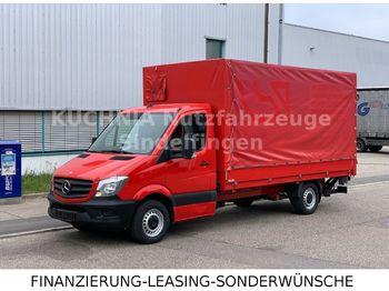 Mercedes-Benz Sprinter 316 Pritsche 4,38m Plane LBW Klima E5  - curtain side van