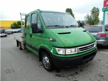 Open body delivery van IVECO DAILY 35 C 17 DOKA Platós