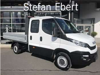 Open body delivery van Iveco Daily 35 S 13 DoKa AHK 3,5t Wechselsystem