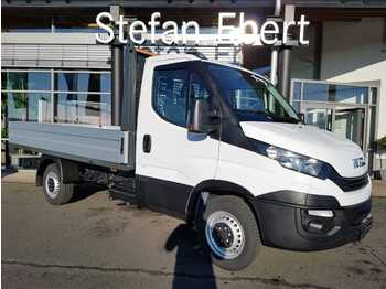 Open body delivery van Iveco Daily 35 S 15 3,0 L Pritsche Klima+BT+AHK 3,5 t