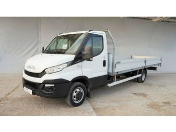 Open body delivery van Iveco Daily 50C17 pritsche 6,1m/ klima/ luft/ bis 3,5t