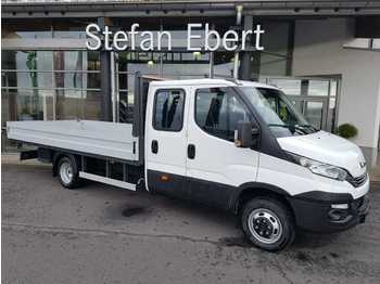 Iveco Daily 50 C 18 H A8 D/P Doka Pritsche, Klima, AHK  - open body delivery van