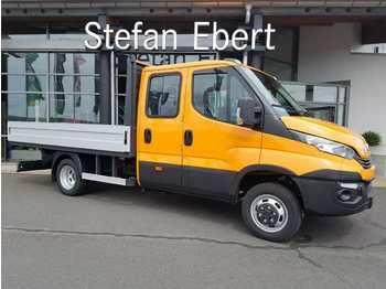 Open body delivery van Iveco Daily 50 C 18 H P Doka AHK Maul + 6 Sitze