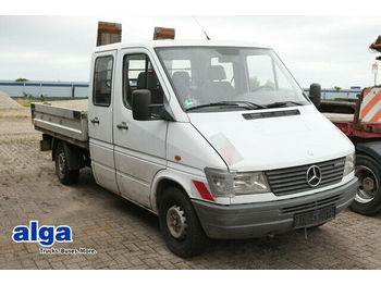 Mercedes-Benz 308 D Sprinter, DOKA, 2.700mm lang, Kugel-AHK  - open body delivery van