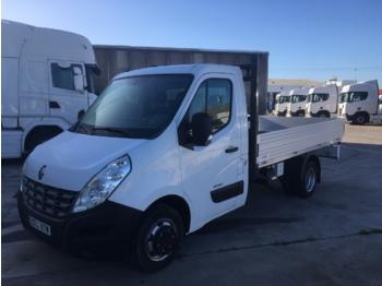 Open body delivery van Renault MASTER 150.35 CAJA ABIERTA
