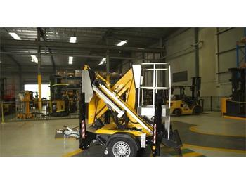 Aerial platform Comet X Trailer 12 New, 12m Working Height, 4.5m Reach,