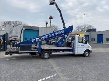 Aerial platform Mercedes-Benz 23 meter, Auto hoogwerker, B-rijbewijs