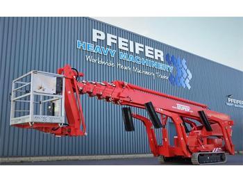 Aerial platform Teupen LEO 36T Valid inspection, *Guarantee! 230 V Electr