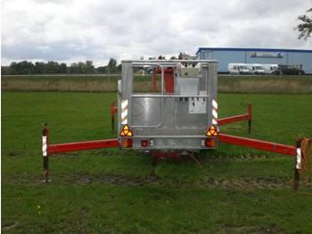 Teupen TL 14 orginal 1550 Betriebsstuden - aerial platform