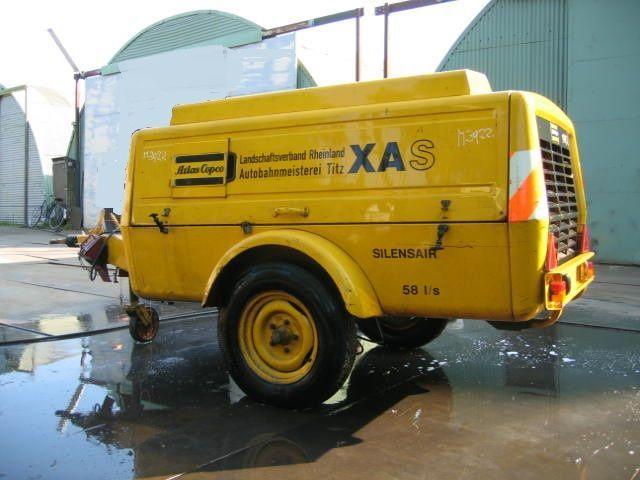 Atlas Copco Xas 60 Dd Air Compressor From Romania For Sale