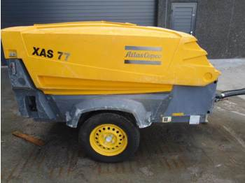 Air compressor Atlas-Copco XAS 77 DD