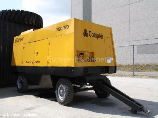 compair 750 170 air compressor from netherlands for sale. Black Bedroom Furniture Sets. Home Design Ideas