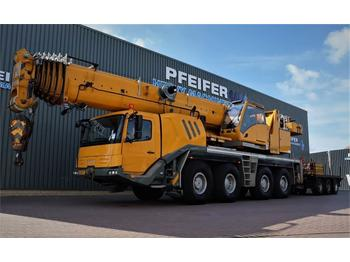 All terrain crane Grove GMK4100L Available for rent, 17m Jib, 100t Capacit