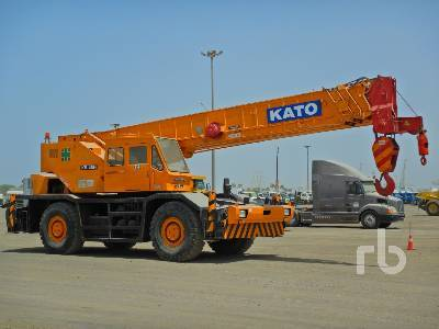 KATO KR45H-VS 45 Ton 4x4x4 all terrain crane from United