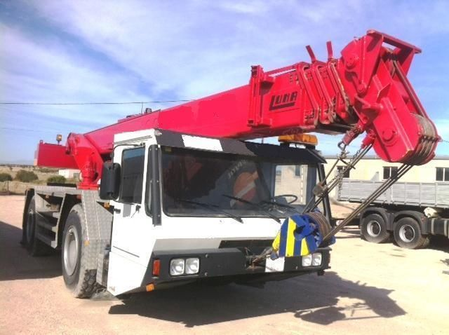 Mobile Crane Engine : Other luna at mobile crane with mb engine all