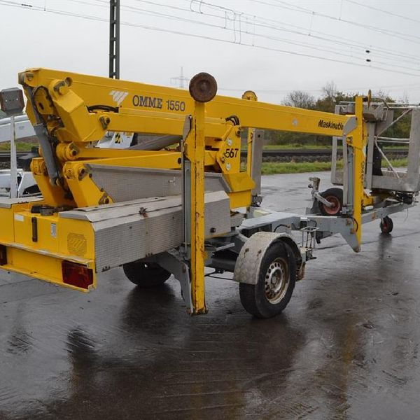 2006 Omme 1550EBZX Single Axle Manlift Access Platform - 5393CM