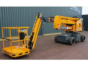 Articulated boom Haulotte HA15IP Valid inspection, *Guarantee! Electric, 15