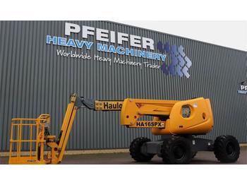Articulated boom Haulotte HA16SPX Diesel, 4x4 Drive, 16m Working Height, Jib