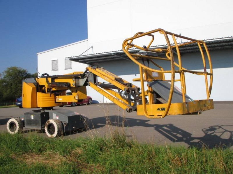haulotte ha 15 ip articulated boom from germany for sale at truck1 rh truck1 eu