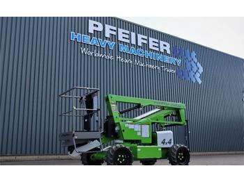 Articulated boom Niftylift HR12DE 4WD MK1B Bi-Energy, 4x4, 12.2m Working Heig
