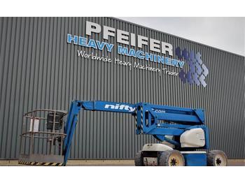 Articulated boom Niftylift HR15NDE Bi-Energy, Jib, 15.6m Working Height, Non