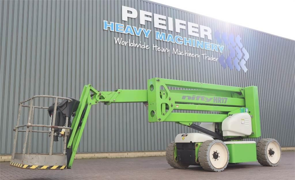articulated boom Niftylift HR17NDE