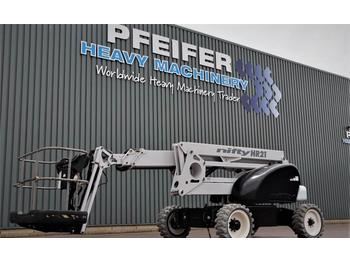 Niftylift HR21DE 2WD Bi-Energy, 20.8m Working Height, 13m re  - articulated boom