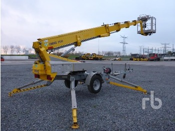 Omme 2100EBZ Electric Tow Behind - articulated boom