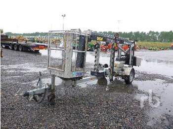 Omme MINI 12EZ Electric Tow Behind - articulated boom