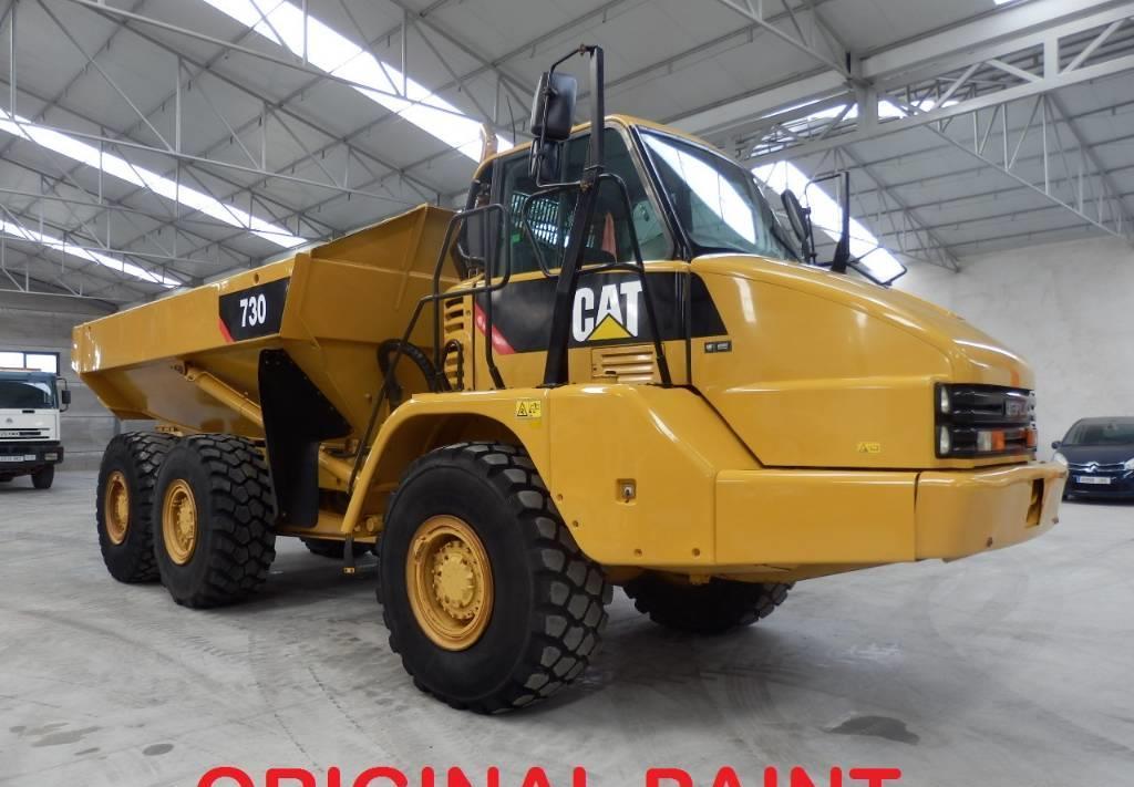 articulated dumper Caterpillar 730