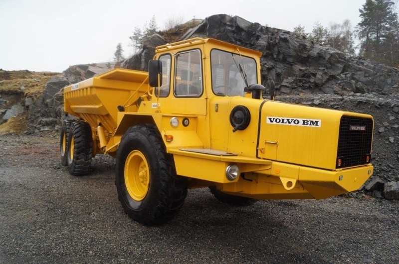Volvo DR-860 S articulated dumper from Norway for sale at Truck1, ID: 1963865