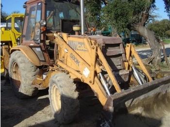 CASE 580K - backhoe loader