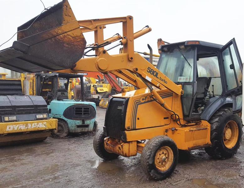 Backhoe loader CASE 580L - Truck1 ID: 3128870